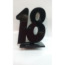 Souvenirs De Acrilico De 18 Años X 20 Unidades