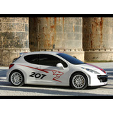 Grafica Lateral Peugeot 207 ,206 Etc