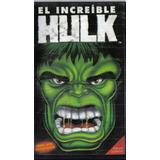 El Increible Hulk Dibujos Animados Castellano Vhs