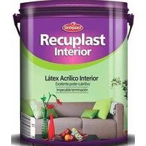 Recuplast Interior Latex Satinado X 20 Lts Sinteplast