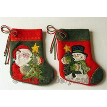 Diseño Bordadora Bota Navidad Aplique