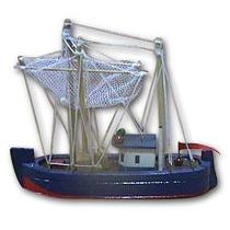 Barco Pesquero De Madera No Maqueta Elioplata
