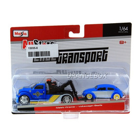 Caminhão Guincho Wrecker + Volkswagen Fusca 1:64 15055-8