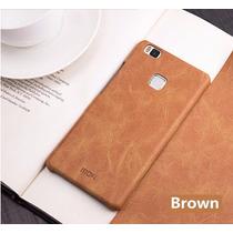 Funda Huawei P9 Y Lite Piel Autentica Mofi Elegante + Envio