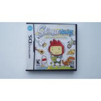 Scribble Nauts Nintendo Ds Caja Instructivos