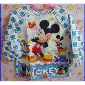 Delantal Escolar Mickey Mouse