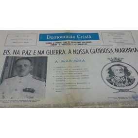 Jornal Democracia Cristã Jan/ Fev 1972 !
