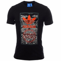 Playera Atletica Originals Hand Drawn Hombre Adidas Aj7140