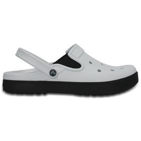 Zapato Crocs Unisex Caballero City Sneaks Slim Blanco
