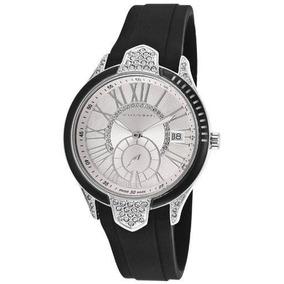 Reloj Ted Lapidus Dial Cristal Negro Femenino