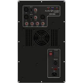 Amplificador Inbox P/caixa Ativa Cm800 800wrms Audioleader