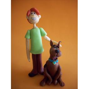 Shaggy Y Scooby Doo Adorno Para Torta