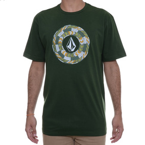 Camiseta Masculina Volcom Beaded