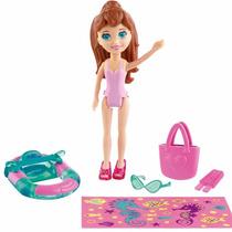Polly Pocket Amigas Parque Aquático Lila - Mattel Promoçâo!!