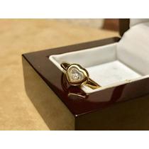 Bellisimo Anillo Chopard Heart Diamond 18 Kilates # 5