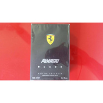 Perfume Scuderia Ferrari Black 125 Ml Original