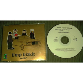 Cd Single Limp Bizkit Rollin