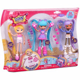 Muñeca Betty Spaghetty Set De Lujo Grande Mix Match Moose