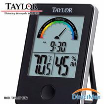 Termohigrometro Para Farmacias Taylor 1732