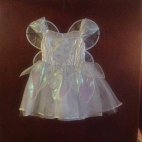 Disfraz Para Niña Importado:hada De Las Mariposas Talla 3
