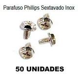 Parafuso Phillips Sextavado Inox C/ 50 Unidades Hd, Gabinete