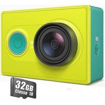 Camera Xiaomi Yi Original + 32gb Wifi 16mp Full Hd Filmadora