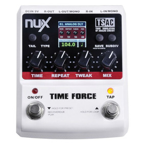 Pedal Time Force Nux - Delay Loop ( Boss Dd20 )