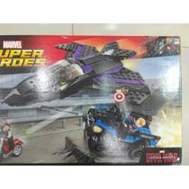 Lego Dc Comics Black Panther Vs Soldado Del Invierno