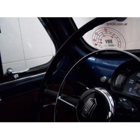 Calco Autoadhesiva Fiat 600 - Velocidades De Ablande