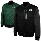 Nfl Green Bay Packers Nike Chamarra Reversible Termica