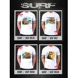 Remeras Surf Tablas Santa Cruz Estampado Digital. Miralas!