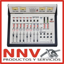 Consola De Radio Radiodifusion Mix-62 C/torreta Y 2 Hibridos