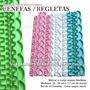 Cenefas Regletas Reglas Reposteria Decoracion Textura Marcar