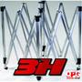 Estructura De Hierro 3x3 Para Carpa 3h Qpg Team