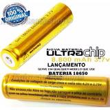 Bateria 18650 Gold 8800mh 3.7v Lanterna Tática Led Recarrega