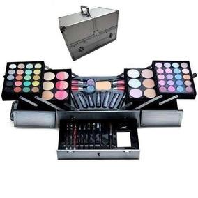 Maleta De Maquiagem Jasmyne Profissional Grande Kit Completa