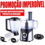 Multiprocessador De Alimentos Premium 4 Em 1 - Dellar 127v