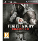 Digital Ps3 Boxeo Ps3 Fight Night Champion Ps3!!