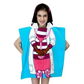 Toalla Con Capucha Disney Doctora Juguetes Baño / Poncho Pa