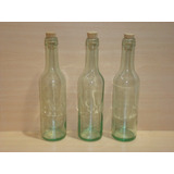 Botellas De Vidrio 375cc Con Corcho Pack 24 Botellas
