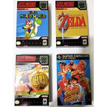Mini Caixas Para Jogos De Super Nintendo - Snes