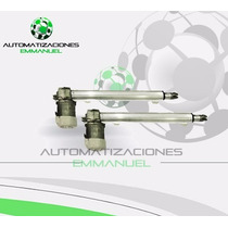 Kit Automatización Para Portón Pivus Embolo Doble 1/3 Hp