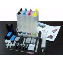 Bulk Ink Hp 3510 Cartucho 662 Completo Acessorios Manual