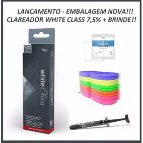 Clareador Dental White Class 7,5% - Clareamento + Brindes!