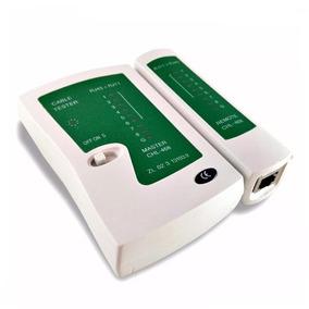 Testador Cabo De Rede Lan Rj45 Rj11 Profissional Telefone