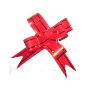 Laço Fácil Embalagem Presente Fita 30x50mm 100 Un Tam.medío