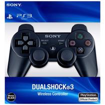 Controle Sem Fio Ps3 Original Wireless Play Cabo + Usb