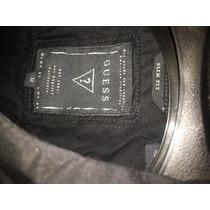 Camisa Guess Negra Nueva Slim Fit Zara