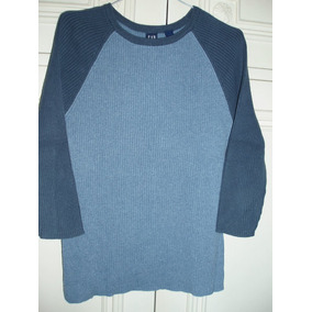 Remera Gap 100% Algodón - Mangas 3/4 - Talle M - Impecable!