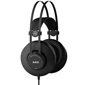 Fone Ouvido Akg K52 Over Ear Headphone Original Profissional